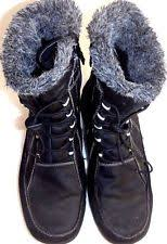 totes s winter boots size 11 totes womens size 11 black wide winter boots ebay