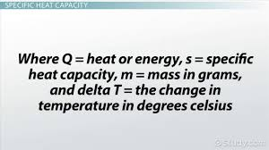 calorimetry measuring heat transfer and heat capacity video