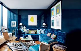 paint color blue is color trend in 2015 for interior design