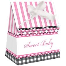 pink favor bags sweet baby pink favor bags with ribbon 12