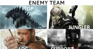 Team Meme - enemy team vs my team weknowmemes
