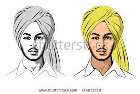 stock vector illustration indian sikh freedom stock vector