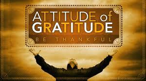 attitude of gratitude week two quot come listen quot