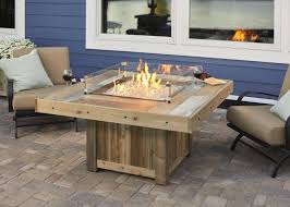 electric fire pit table vintage fire pit table from wissota outdoor living modern fire