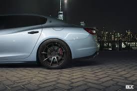 maserati quattroporte matte black maserati quattroporte 901gtr u2013 blk wheels
