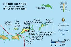 map of the bvi islands maps