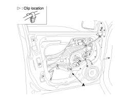 hyundai accent door panel hyundai replace door handle questions answers with pictures