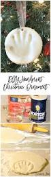 diy handprint christmas ornament crafts memories and children