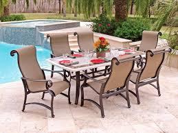 Patio Plus Outdoor Furniture Brilliant Patio Set Travertine Table Carlsbad Sling Aluminum Patio