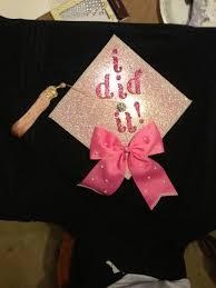 pink graduation cap graduation cap sparkly background and bow graduation ideas