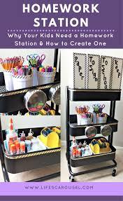 homework station how to make a homework station for your kids