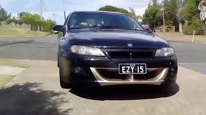 vx commodore clubsport v8 burnout youtube