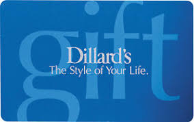 s gift card 50 dillard s gift card mail delivery ebay