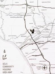 map of ucla los angeles area map ucla housing