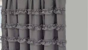 Ruffle Blackout Curtains Blackout Curtain Ruffle Blackout Curtains White Perky Liner For