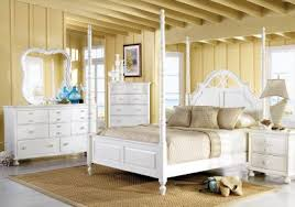 cindy crawford home seaside white 6 pc queen poster bedroom
