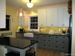 multi color kitchen cabinets multi tone kitchen double the finish double the style multi color