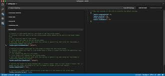 Visual Studio Code User And Workspace Settings