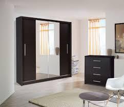 Clear Mirrored Wardrobe 2 Door Sliding Wood Wardrobe Doors Wooden Door Wardrobes Sdwc Astounding