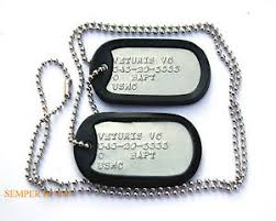 graduation dog tags 2 authentic us marines custom dog tags necklace chain mcrd boot