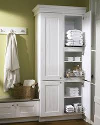 Keep Your Linen Closet From Becoming A Disaster Area Bench