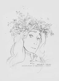 flower crown sauron sketch by sycamoreleaf on deviantart