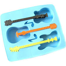 aliexpress com buy guitar shape cake chocolate molds silicone