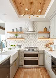 how to make cabinets appear taller 12 ways to make your kitchen look and feel bigger