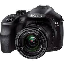 sony alpha a3000 digital camera with 18 55mm lens ilce3000k b