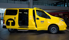 nissan nv200 taxi hailing the taxi of tomorrow