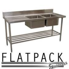 Stainless Steel Sinks Sink Benches Commercial Kitchen At Flatpack Stainless We Provide You With The Best Products Made