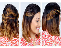 charming decoration easy to do hairstyles for short hair unusual