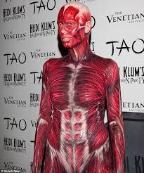 10 Amazing Heidi Klum Halloween Costumes Copy Heidi Klum Halloween Costume 2011 Dead Body Pictures