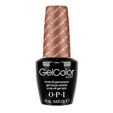 gelcolor by opi collection opi cosmoprof