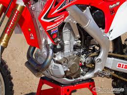 honda racing motocross trey canard honda crf450r factory motocross bike test photos