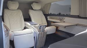 mercedes v class by mansory is a first class lounge for the road