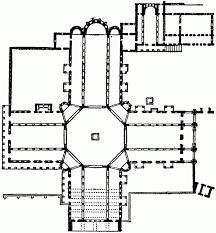 romanesque floor plan plan of cathedral at mainz ad 976 clipart etc romanesque floor