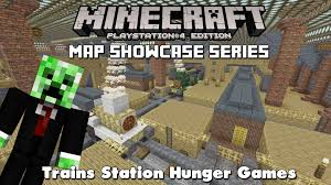 Hunger Games Minecraft Map Minecraft Ps3 Trains Station Hunger Games Map Download
