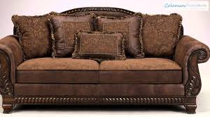 Living Room Furniture Reviews by Bradington Truffle Living Room Furniture From Millennium By Ashley