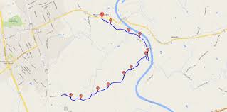 Map Your Run Wildcat Road Running Route J U0026h Lanmark The Outdoors Store