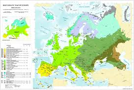map of europe picture bioclimatic biogeographic maps