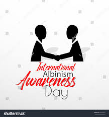 Creative Images International Creative Abstract Banner Poster International Albinism Stock