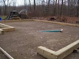 Pole Barn Pa Site Prep Drain Installation Custom Pole Barn U0026 Garage