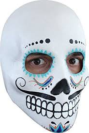 day of the dead masks mens day of the dead dia de los muertos mask clothing