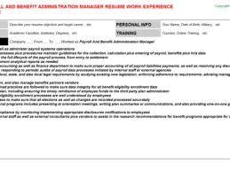 payroll manager resume 22 cover letter for payroll administrator payroll administrator