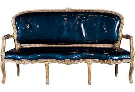 Patent Leather Sofa Eel Print Patent Leather Sofa On Onekingslane Chair Nation