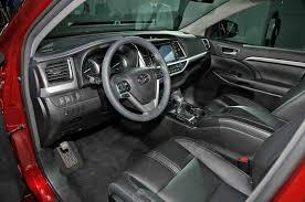 inside toyota highlander toyota highlander car pictures