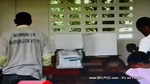 les bureaux de vote photo haiti menbre de bureau de vote bv belpolitik com