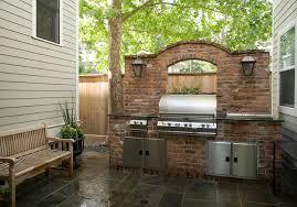 free standing range kitchen modern with