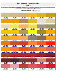color chart free download edit fill create and print
